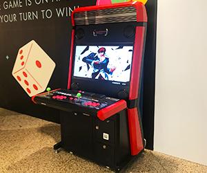 classic video game arcade